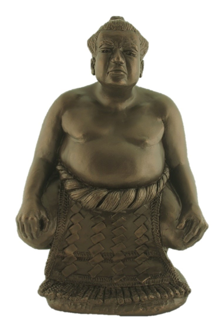 Sumo Wrestler Figurine - Colour Bronze