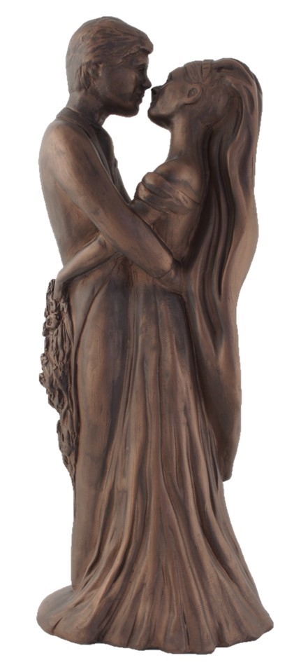 Holding Each Other - Colour Bronze