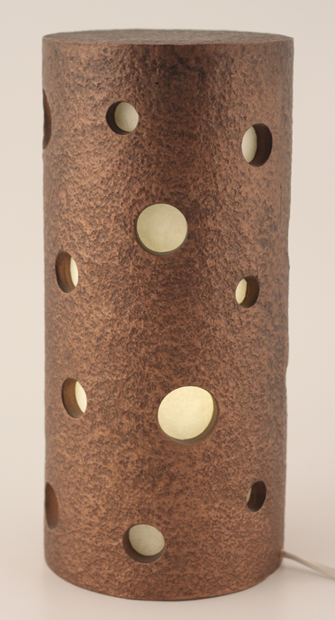 Sabina Table Lamp - Colour Bronze & Brown