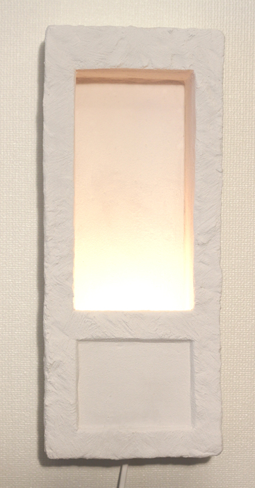 Hole In The Wall Lamp - Colour Off-White