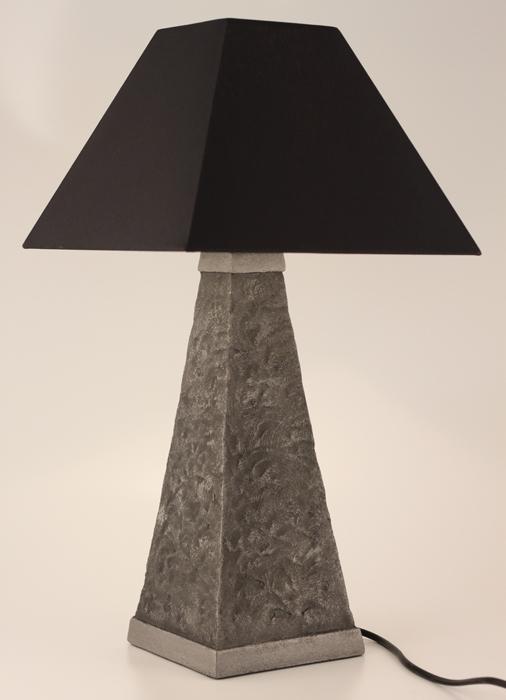 Symfoni Table Lamp - Colour Steel & Black