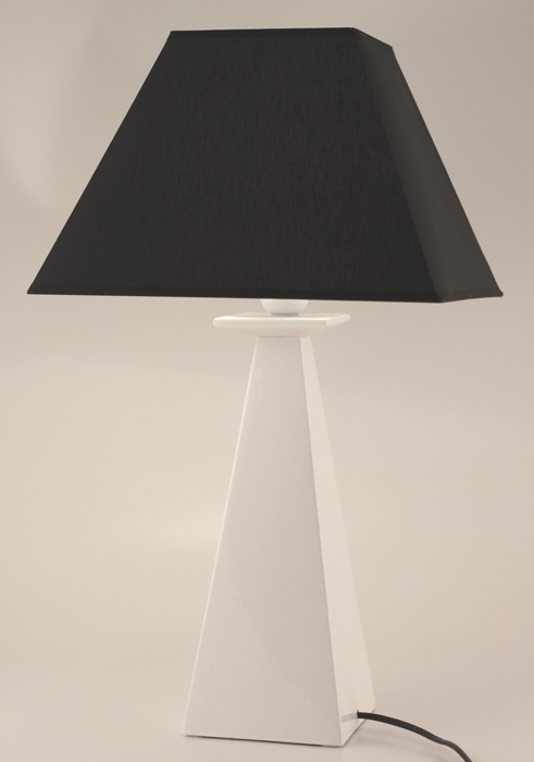 Elegance Table Lamp - Colour White